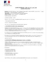 COMPTE RENDU 5 AOUT 2020