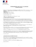 COMPTE RENDU CM 22 OCTOBRE 2020