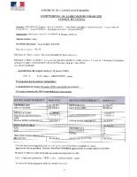 COMPTE RENDU CONSEIL MUNICIPAL 5 MARS 2020