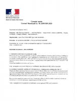 CR 16 janvier 2020
